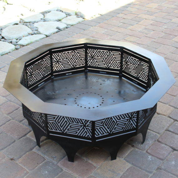 Fire Pit, Furniture - Laced Up Metal
