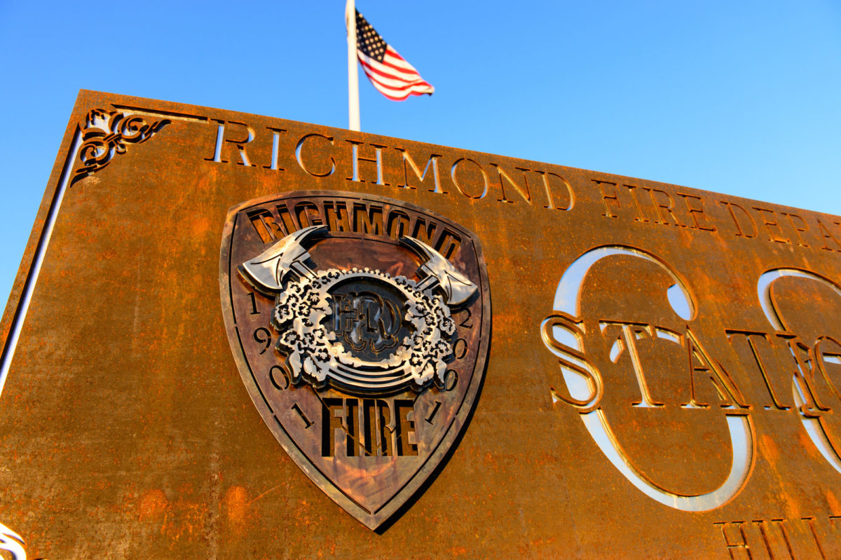 RFD Sign - Public Service Pieces, Laced Up Metal Wall Art