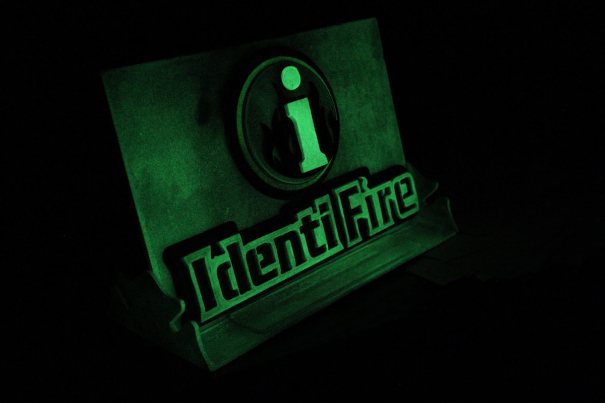 IdentiFire Business Sign - Laced Up Metal