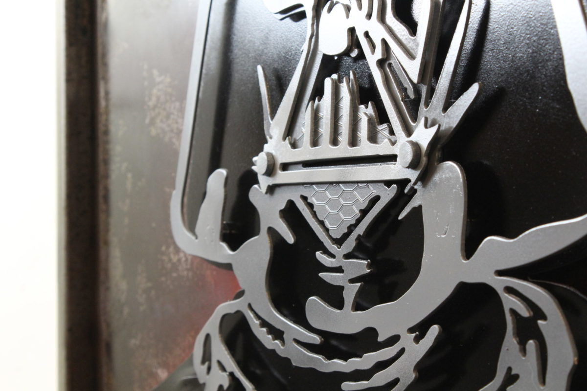 Star Wars Darth Vader, Laced Up Metal Wall Art