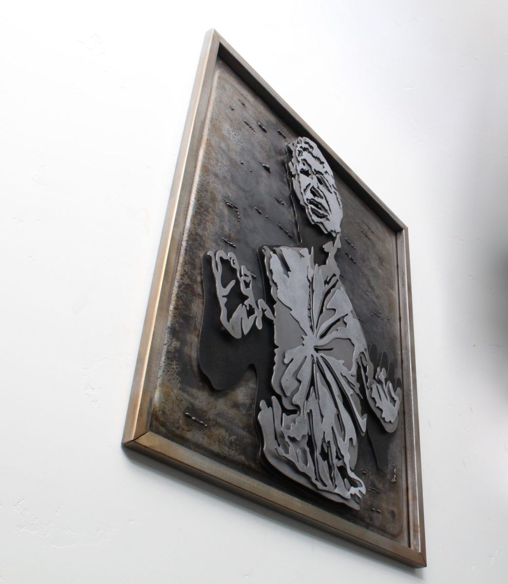 Star Wars Hans Solo, Laced Up Metal Wall Art